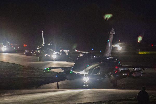 Des Rafale ont décollé de la base de Saint-Dizier le vendredi 13 avril