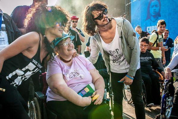 Le groupe Shaka Ponk auprès des personnes handicapées