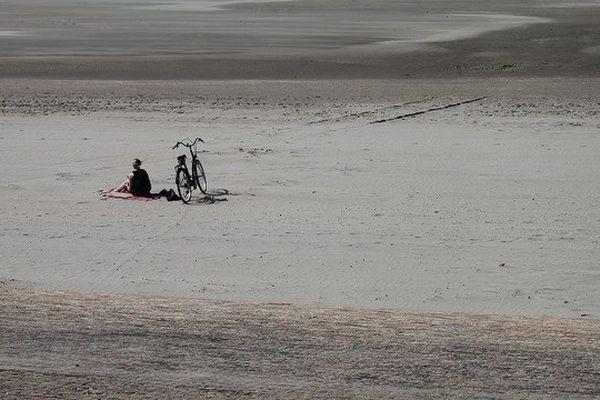 La plage de Leffrincoucke.