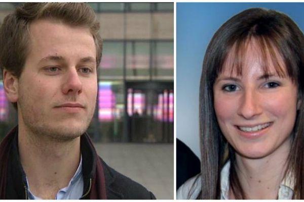 Andrea Didelot, 22 ans et Marion Wilhelm, 24 ans, nouveaux conseillers régionaux du FN
