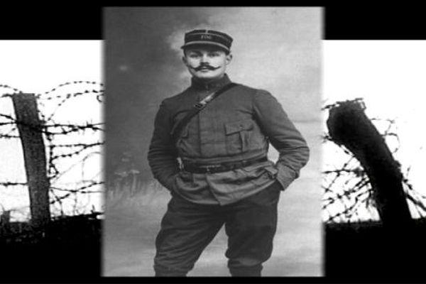 Maurice Genevoix, écrivain né à Decize, blessé lors de la 1ère guerre mondiale