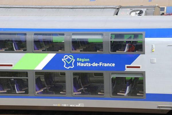 Un TER de la région Hauts-de-France