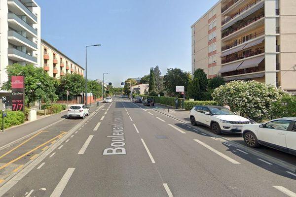 L'homme a été blessé par balle à 10h30 ce matin boulevard Jean Bruhnes à Toulouse