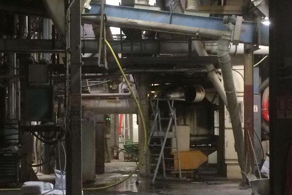 Incendie d'un refroidisseur de granulés sur le site de la RAGT