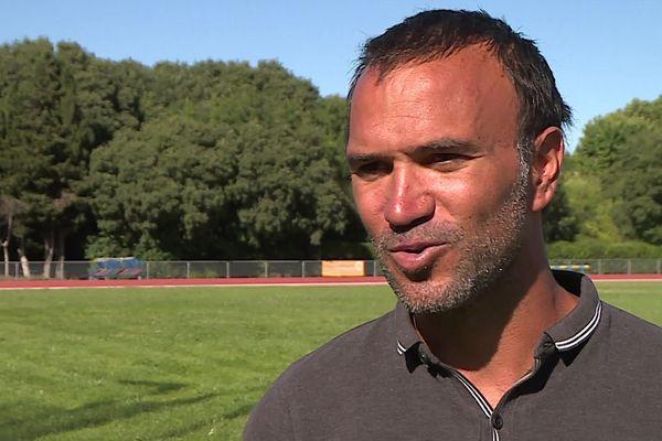 Bertrand Valcin - entraîneur de Kevin Mayer - juin 2020.