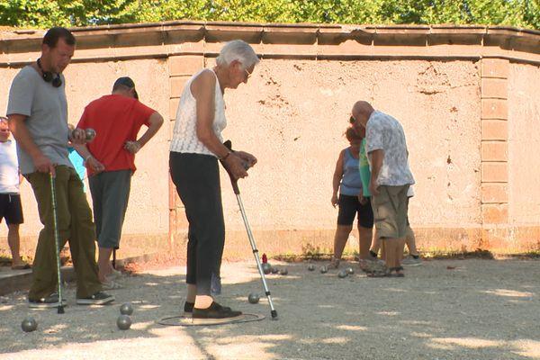 Au club de Gy en Haute-Saône, les personnes handicapées physiques ont monté une section.