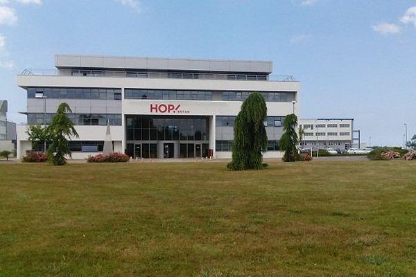 Le siège de la filiale régionale de Hop, à Morlaix