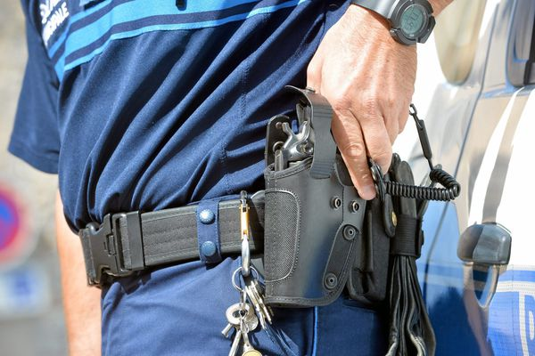 Illustration. Les policiers municipaux d'Ajaccio sont dotés de Manhurin 357, depuis mi-avril.