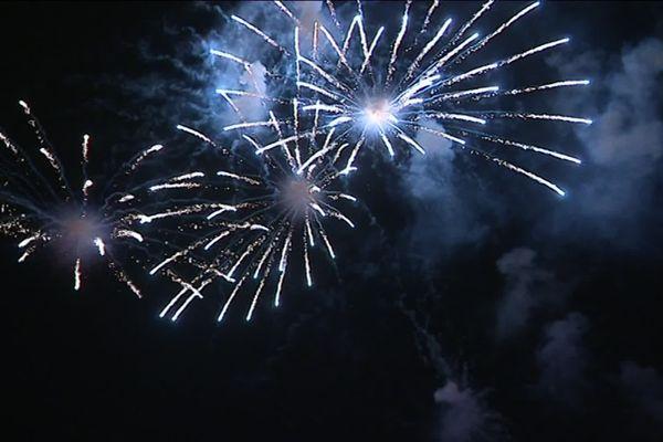 """Le feu d'artifice """" de remplacement"""" a été tiré le 14 septembre à Bordeaux."""