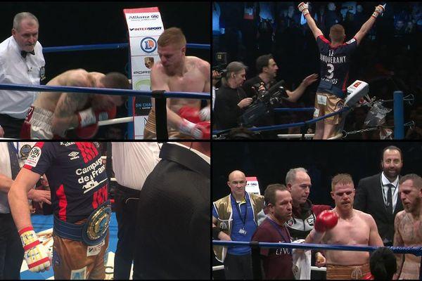 Maxime Beaussire a conservé sa ceinture de champion de l'Union européenne des super-welters à l'issue d'un combat en sept rounds