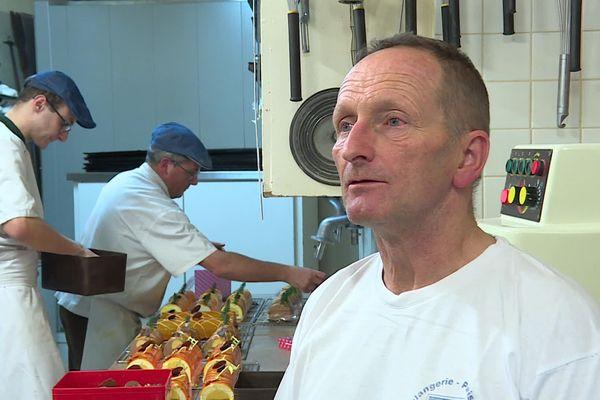 Eric Gallien préfère renoncer plutôt que de faire de gros travaux de mise aux normes acoustiques et techniques dans sa boulangerie à Langres