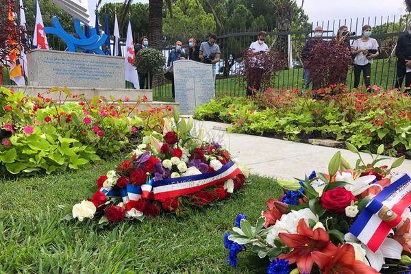 Commémoration du 52e anniversaire de la catastrophe aérienne de la caravelle Ajaccio-Nice ce jeudi à Nice.