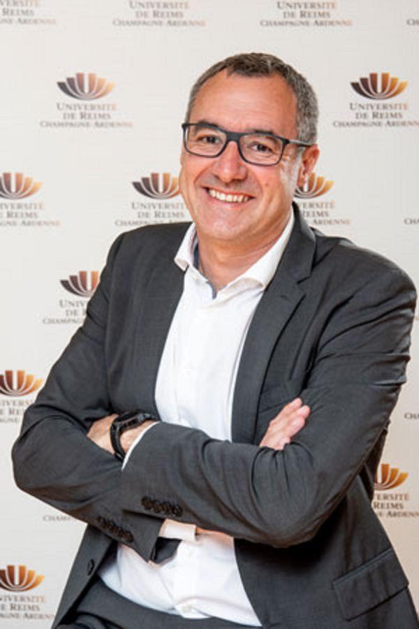 Guillaume Gellé, président de l'université de Reims Champagne-Ardenne