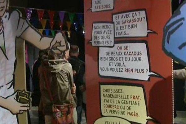 Ca ressemble au français, mais ce n'est pas du français. A vous de décrypter !