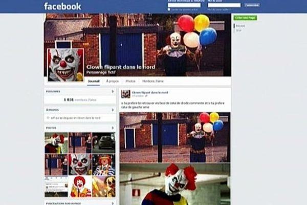 Sur Facebook, la police appelle à composer le 17 en cas de mauvaise rencontre avec un clown malveillant