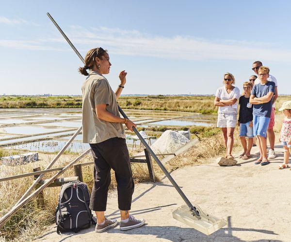 Visite des Marais salants de Guérande avec Terre de Sel