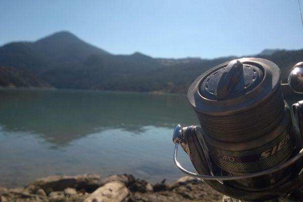 Le soleil, le Lac, la pêche.