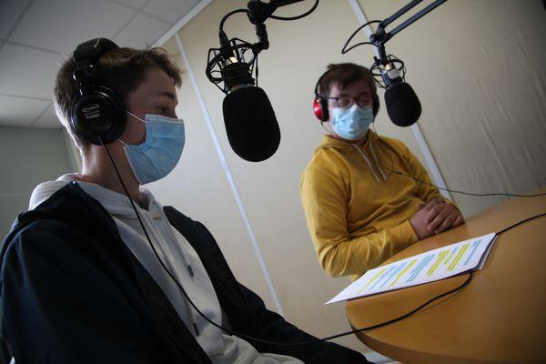 Enregistrement des séquences de l'émission finale.