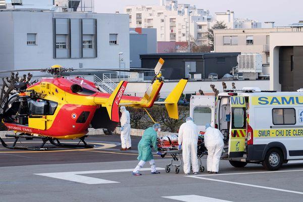 Vingt-et-un patients en réanimation sont attendus au CHU de Clermont-Ferrand