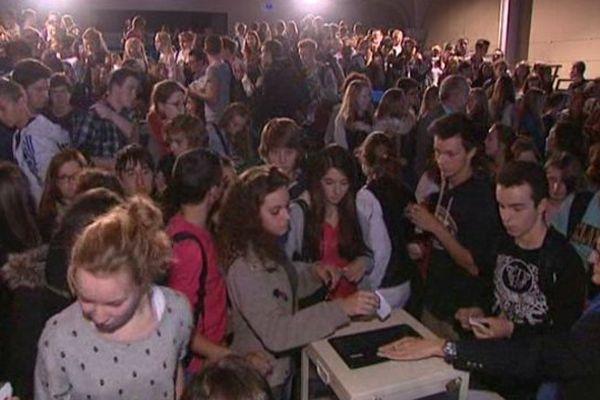 Les lycéens de Bayeux on voté ce lundi pour le meilleur reportage télé de la 20e édition du Prix Bayeux