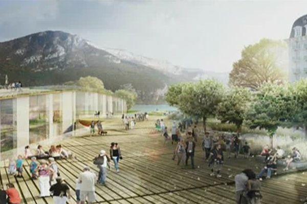 Le projet de centre des congrès d'Annecy