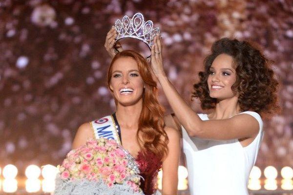 Maëva Coucke, Miss Nord Pas-de-Calais, le soir de son élection en tant que Miss France 2018.