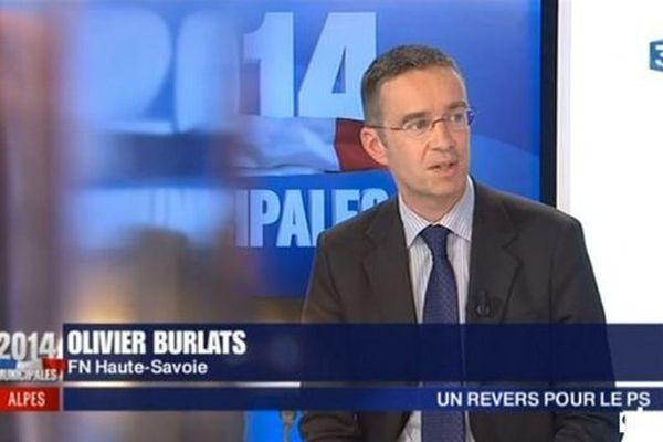 Oliviers Burlats invité sur notre chaîne lors des dernières élection municipales.