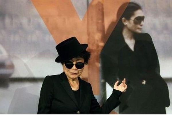 Yoko Ono en 2013 à Francfort