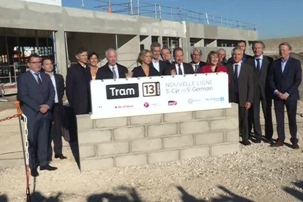 Le tram 13 reliera Saint-Germain-en-Laye à Versailles (Yvelines) en 2021.