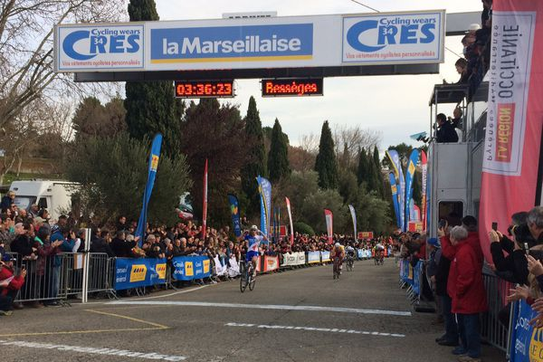 La course cycliste de l'Etoile de Bessèges 2017