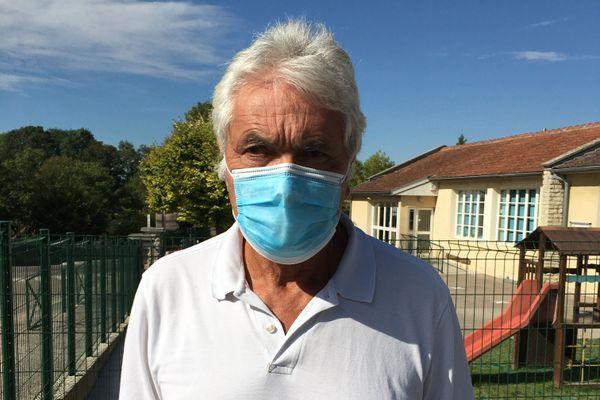 Pascal Lorion, adjoint au Maire de Sainte Maure ne pensait pas être confronté aussi vite à une fermeture.