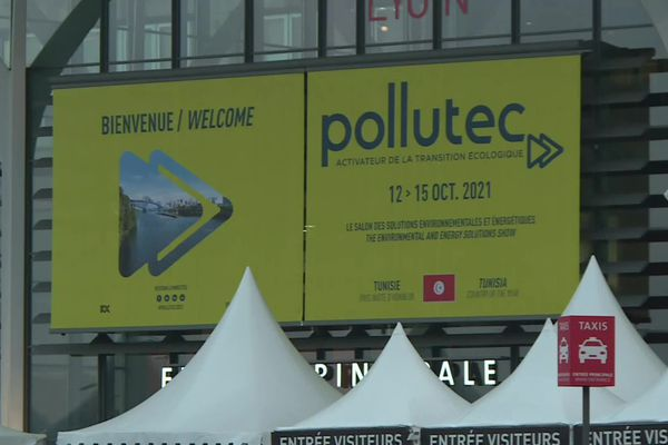 Lyon :  Polluctec, le salon des solutions environnementales et énergétiques, se tient durant quatre jours, du 12 au 15 octobre à Eurexpo.