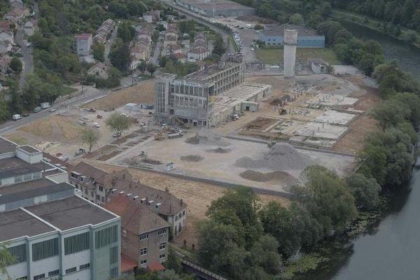 Le parc urbain des Prés de Vaux sera inauguré le 19 septembre.