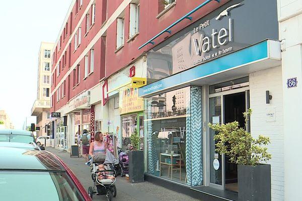 """L'hôtel Le Petit Vatel situé en centre-ville du Havre fait parti du réseau """"Contact Hôtels"""""""