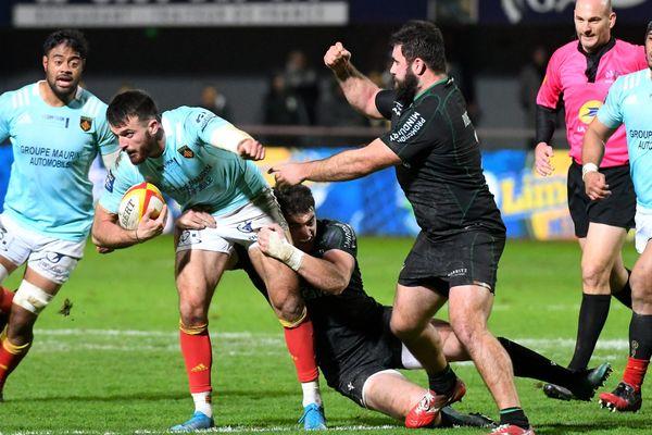 Grâce à sa victoire 29 à 25 face au Biarritz Olympique, les Catalans restent invaincus à Aimé-Giral et montent provisoirement sur la 2ème marche du podium de pro D2. - 5/12/2019