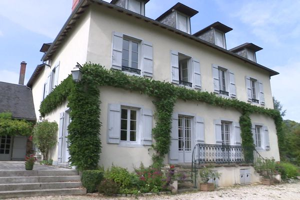 La propriété de Meyrignac appartenait au grand-père de Simone de Beauvoir.