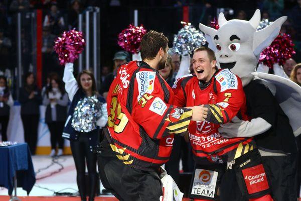 Dimanche 17 février, les Gothiques d'Amiens ont remporté la Coupe de France de hockey sur glace pour la première fois de leur histoire.