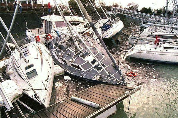 Tempête 1999 à La Rochelle