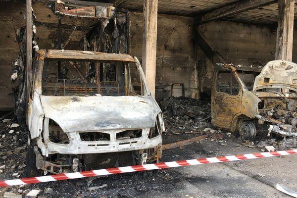 Bastia – Cinq camions détruits par un incendie dans la soirée de jeudi soir