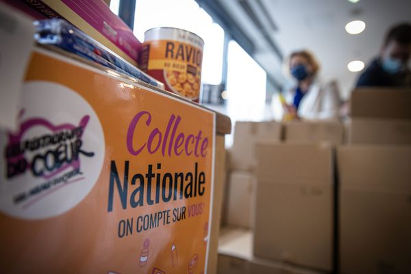 La collecte des 5 et 6 mars 2021 a permis de récupérer 250 tonnes de produits en Alsace.