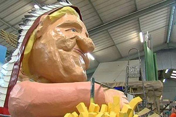 Gérard Depardieu le néo-belge a inspiré les Granvillais