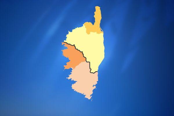 Législatives : le découpage des 4 circonscriptions de la région Corse