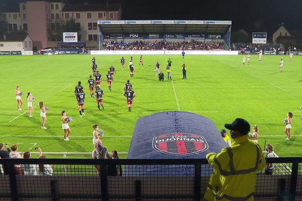 Le Stade Dijonnais recevait Bourg-en-Bresse samedi 19 septembre au stade Bourillot à Dijon