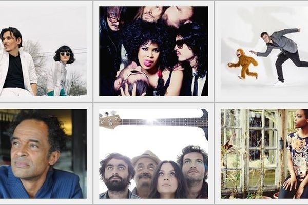 Noah, Chédid, Shaka Ponk sont quelques uns des 15 noms d'artistes dévoilés pour Poupet 2015