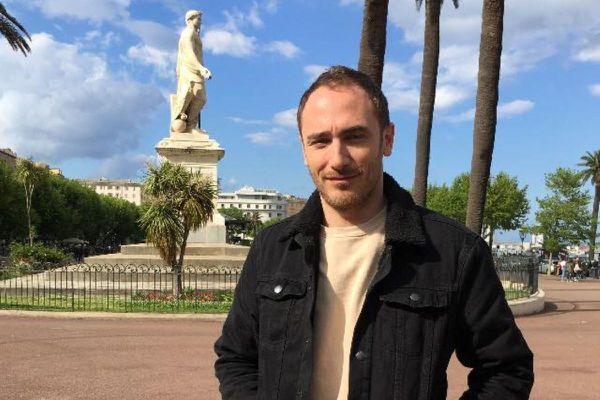François Charles, président de l'ARCU LGBTI+ Corsica