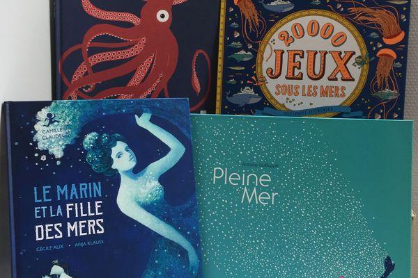 Plongée en mer en livres