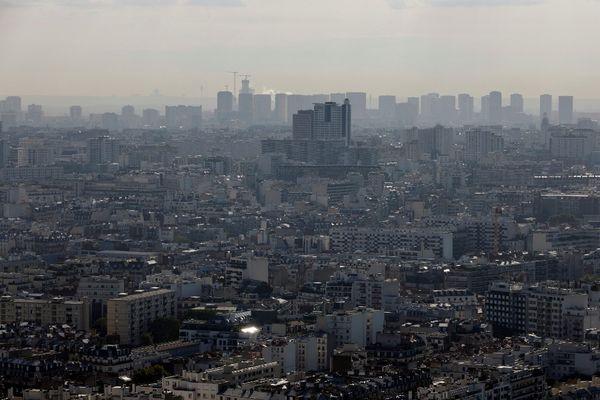 Airparif alerte sur une pollution aux particules fines. (Illustration)