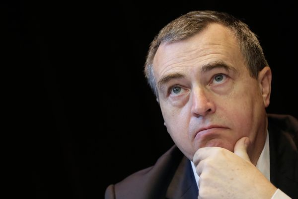 Olivier Carré, le maire (LR) d'Orléans (novembre 2013)