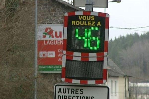 Le nouveau radar pédagogique est installé avenue de la Bastille