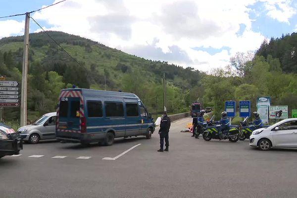 280 gendarmes participent aujourd'hui aux recherches dans la zone de l'Aigoual.